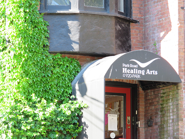 Dr Alex Ritza | Downtown Toronto Chiropractor and Acupuncture | Park Road Healing Arts Entrance