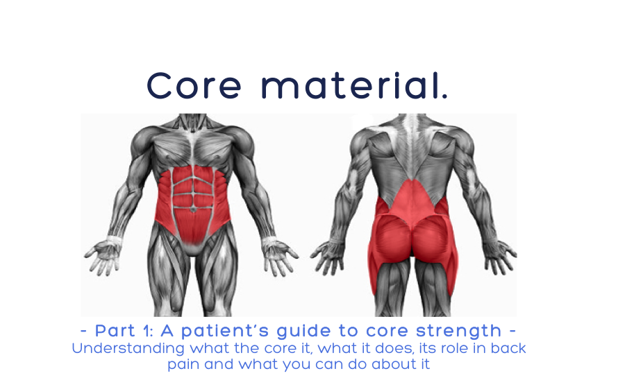 Your core is the key | Dr. Alex Ritza | Downtown Toronto ...