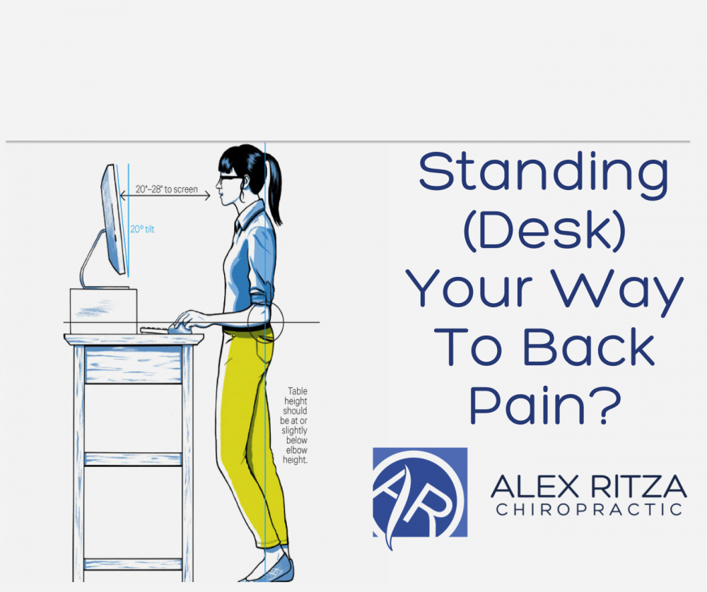 Standing Desk Your Way To Back Pain Dr Alex Ritza Downtown