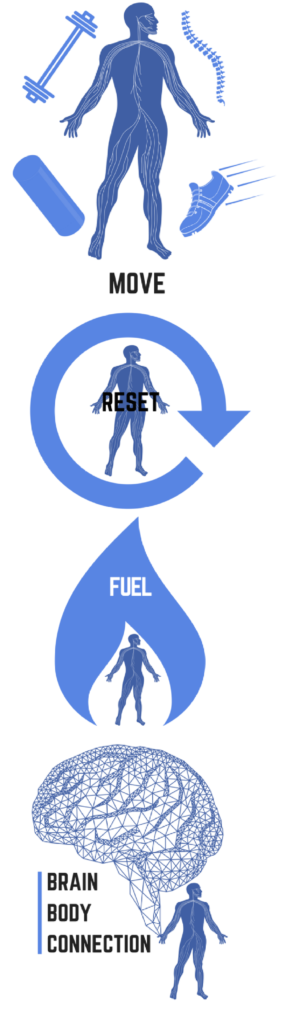 MOVE RESET FUEL BRAIN BODY CONNECTION DR ALEX RITZA